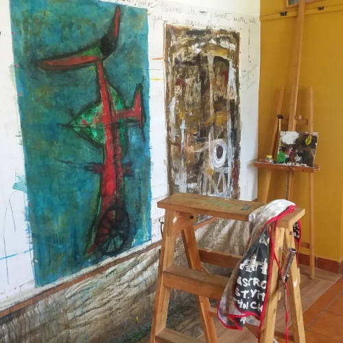 Studio of Beatriz Sala Santacana (Havana, Cuba)