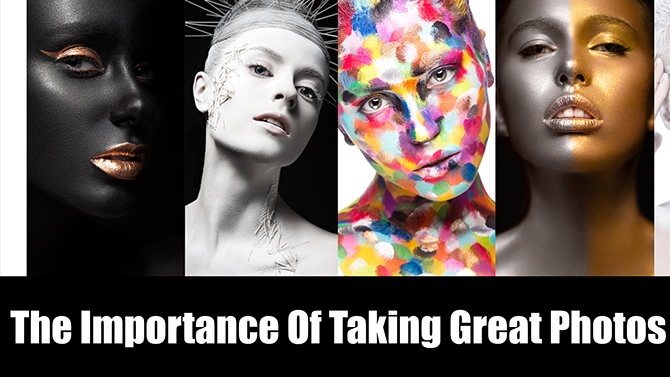the importance of taking great photos as a makeup artist makeup