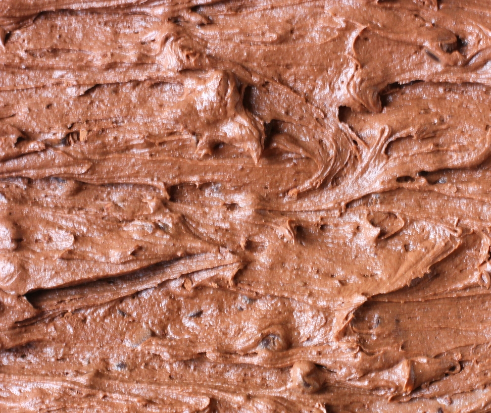 the best part of these brownies is the fact that the batter tastes exactly like frosting.