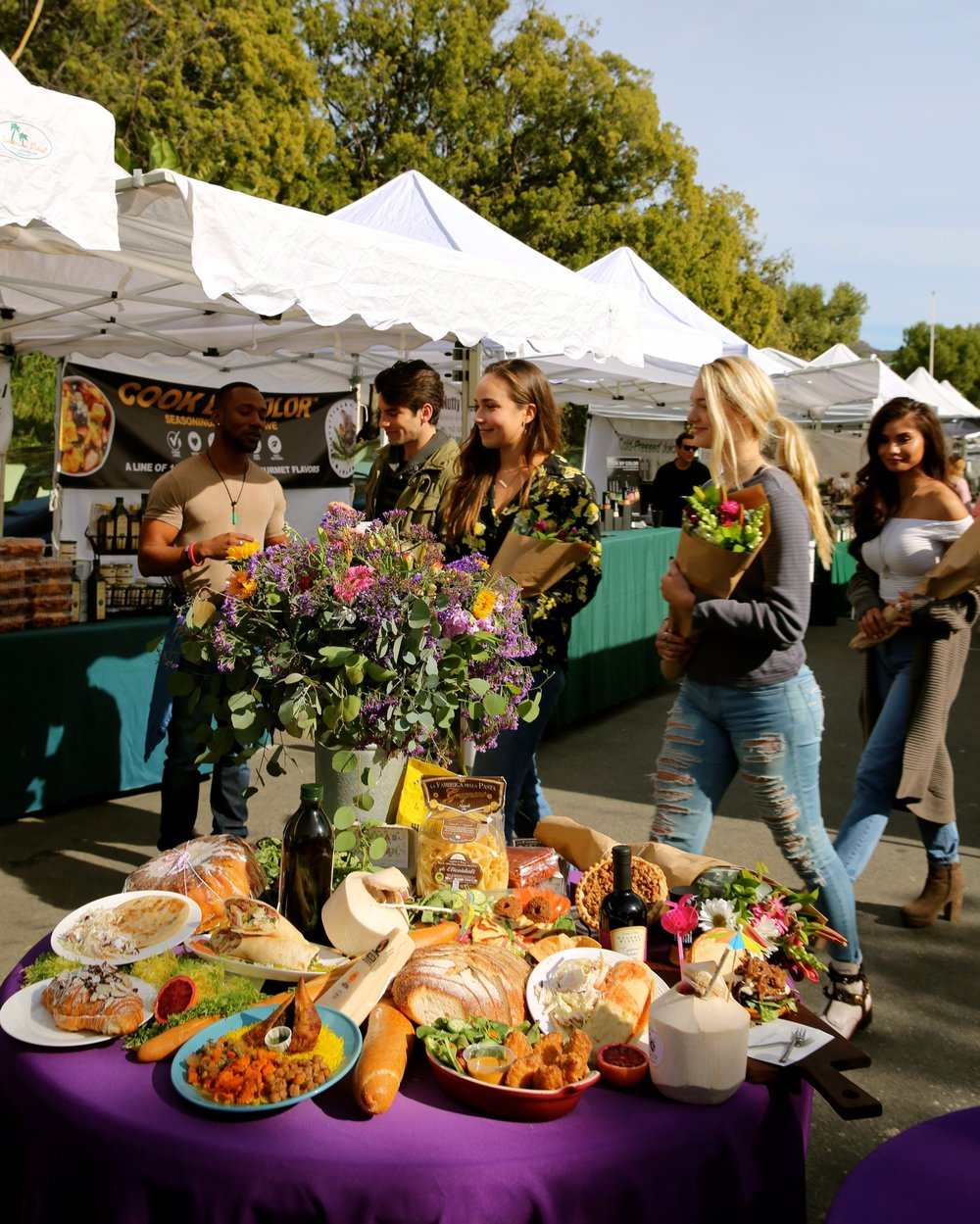 The Farmers Market draws a mix of locals, students, tourists and the occasional celebrity.