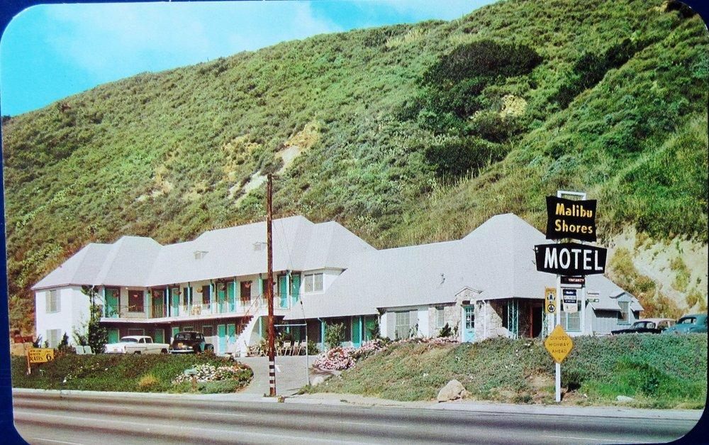 The original Malibu Shores Motel, opened in the 1950s.