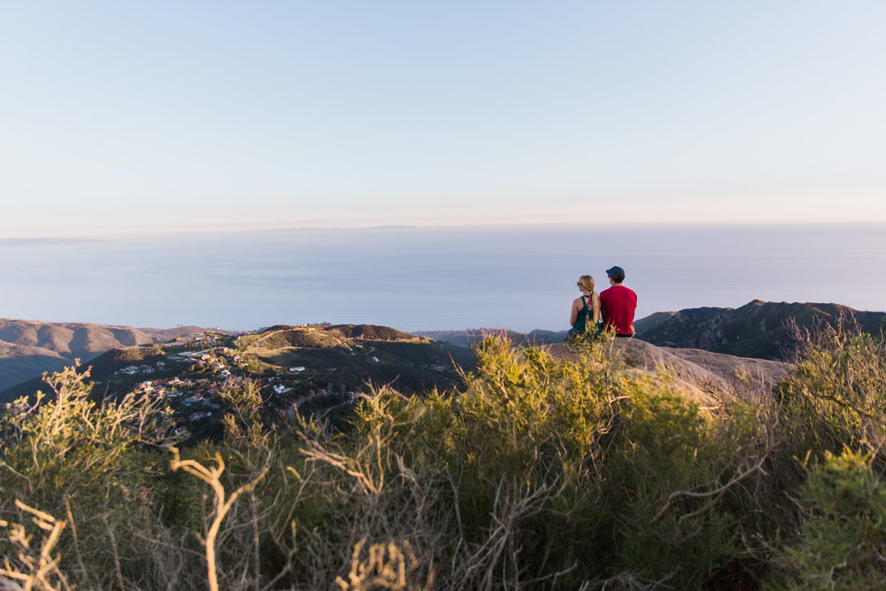 Saddle Peak - The 6th highest peak in the Santa Monica Mountains. Saddle Peak offers hikers panoramic ocean and mountain views that are hard to beat.
