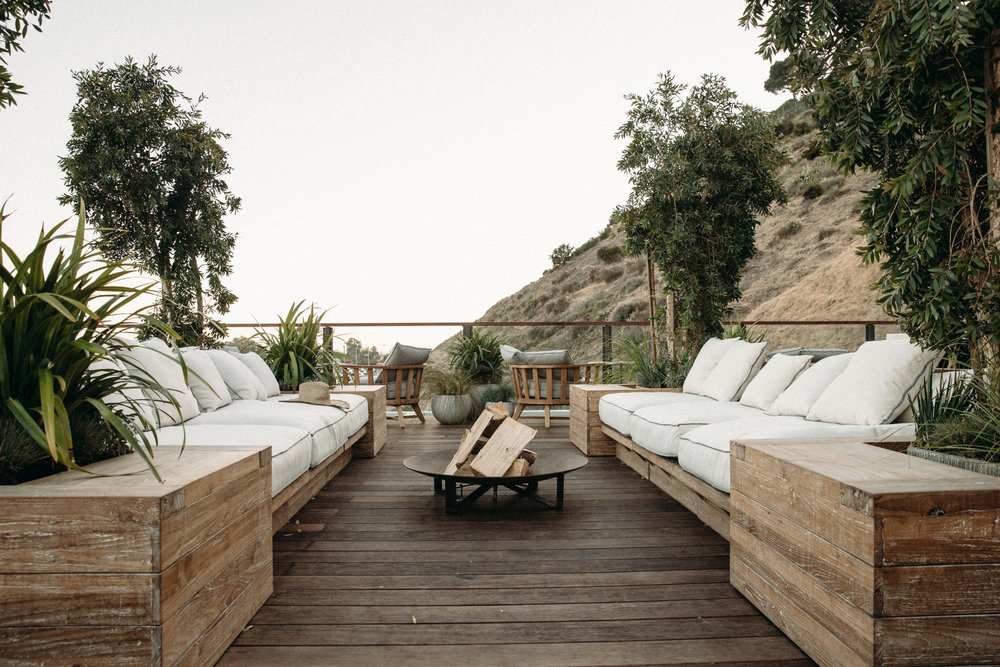 Surfrider Hotel - Book a room at the Surfrider Hotel and enjoy the Roof Deck food and drinks, all locally sourced, sustainable and organic. The deck views of the Pacific Ocean are some of the best in Malibu.