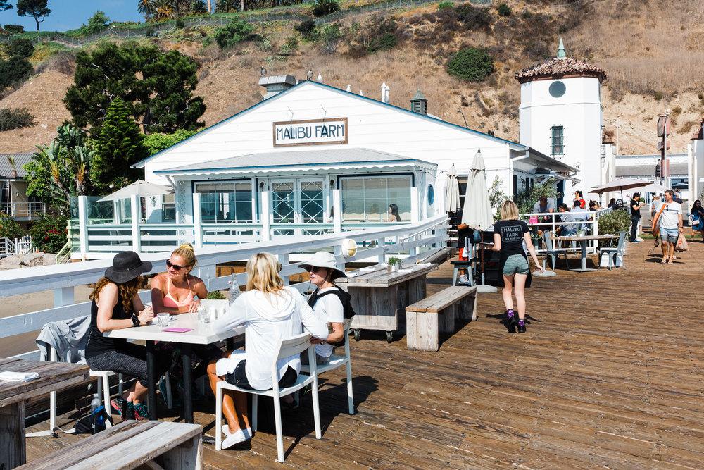 Malibu Farm - Malibu Farm boasts delicious healthy dishes with a view over looking the beach and Malibu Pier.