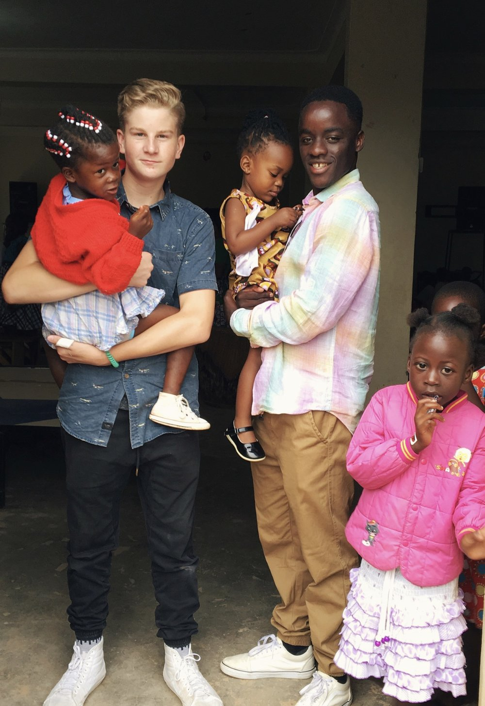 Joe visited a Ugandan orphanage for his documentary From the Land of In-Between.