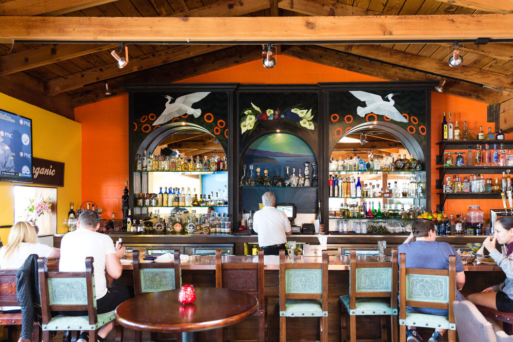 Casa Escobar serves some of the best margaritas in town. On the weekends, there is often live entertainment to accompany food and drinks.