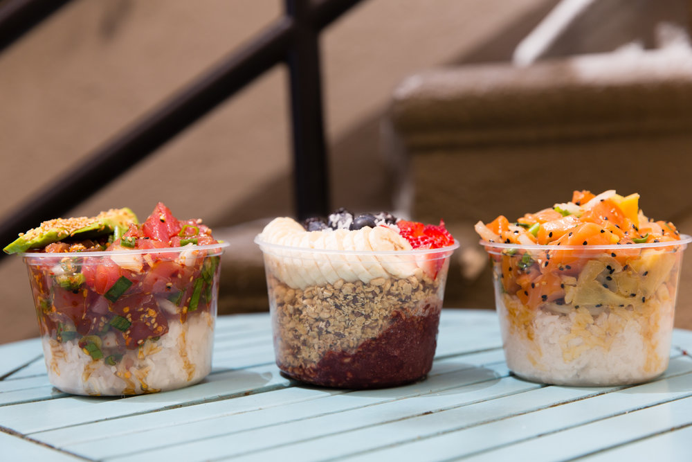 From sushi to salmon to Acai bowls, Poke-Poke has something for everyone.