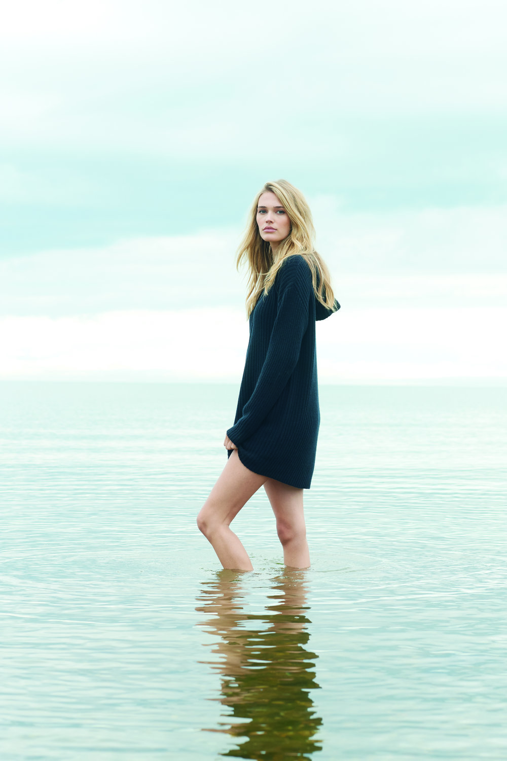 Ilia Dress, 100% Cashmere, $275