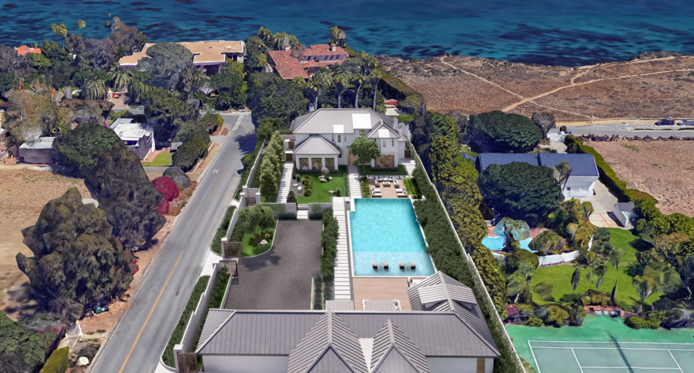 One of Gillen's latest projects is located on Point Dume's Cliffside Dr.