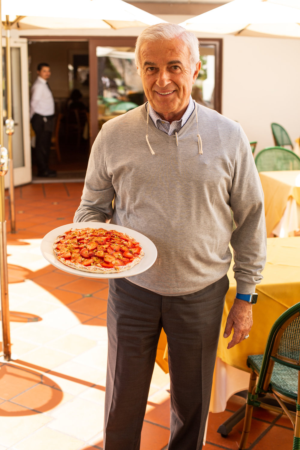 Tarcisio Mosconi opened the famed Cross Creek Italian eatery in 1995 with co-owner Atoni Alessi.