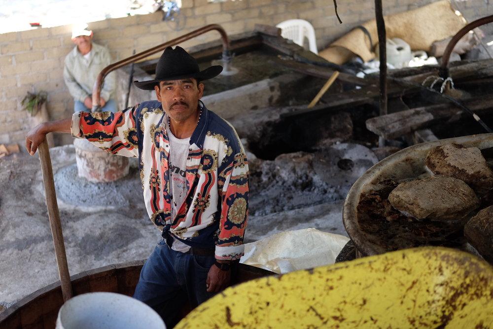Mezcaleros produce Paquera utilizing a complex, month-long process handed down through generations.