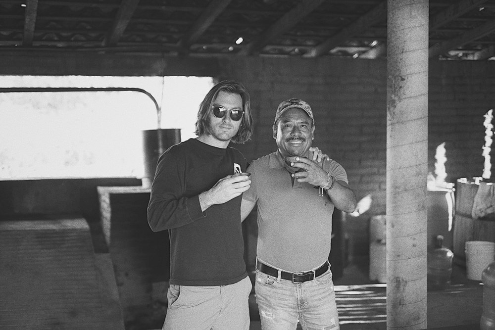 Left, Paquera founder Ben Zerbe at the San Miguel Ejutla production facility