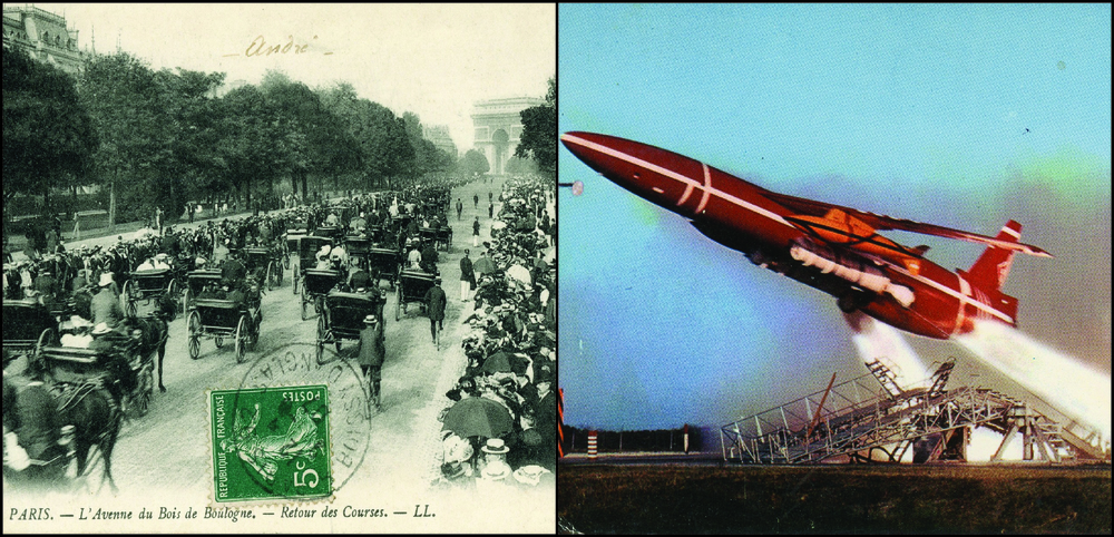 Wasn't the 20th century great? We started with steam ships and horse-drawn carriages and ended with rockets and computers. Postcards documented all of it.