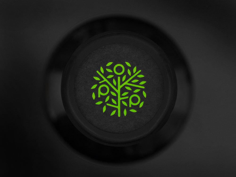 Logo on bottlecap