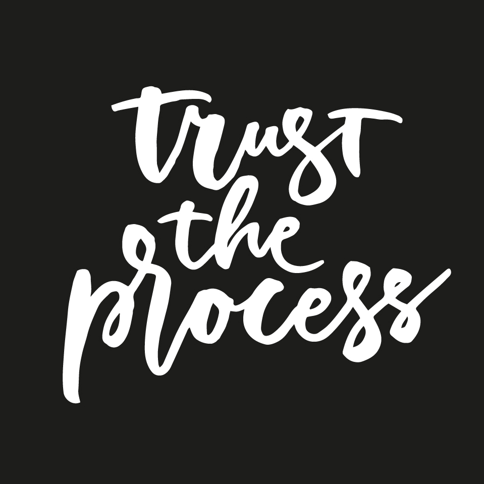 Trust the process  |   100 Days of Lettering by Type and Graphics Lab | typeandgraphicslab.com
