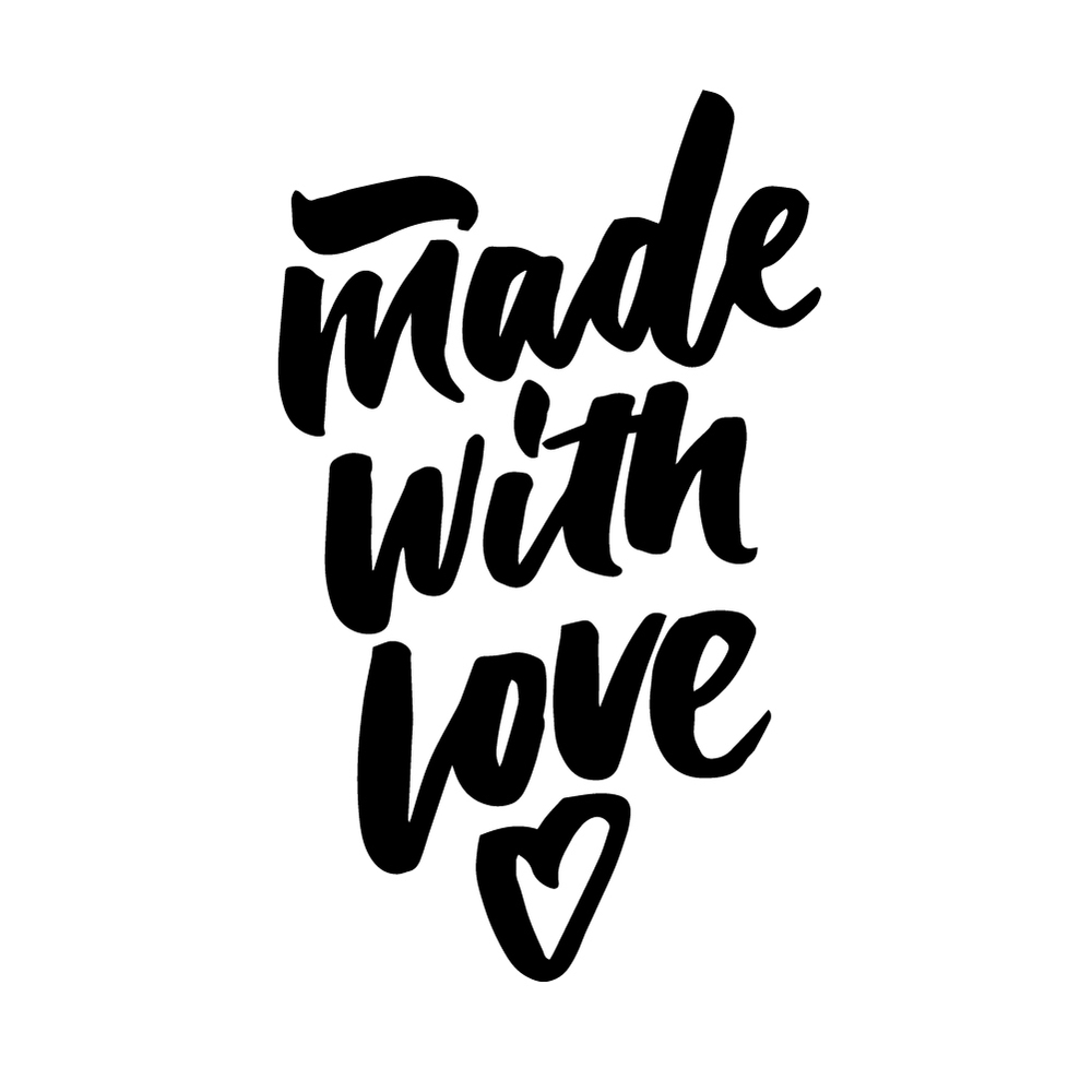 Made with love | 100 Days of Lettering by Type and Graphics Lab | typeandgraphicslab.com