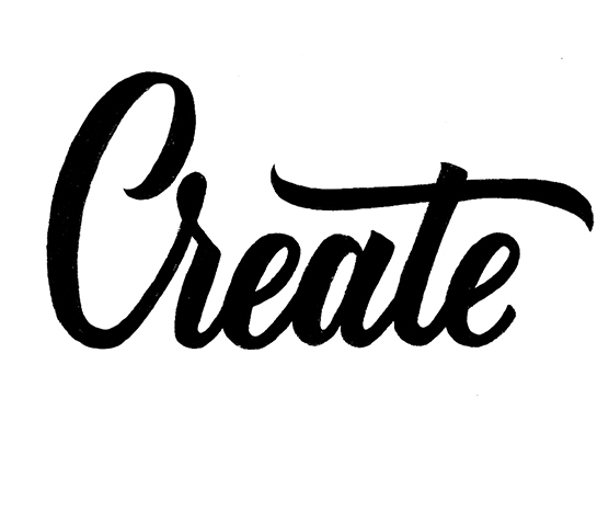 Create | 100 Days of Lettering by Type and Graphics Lab | typeandgraphicslab.com