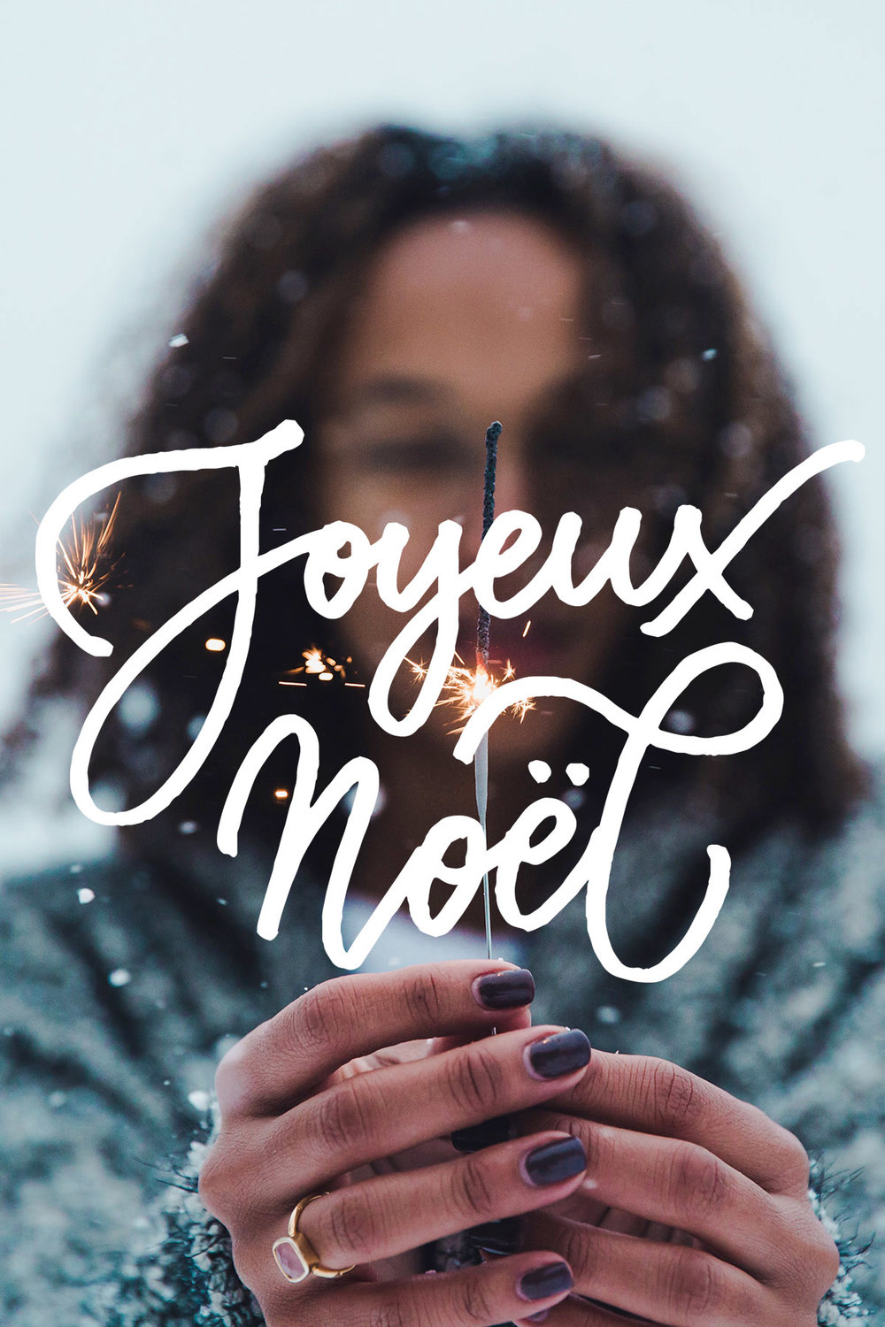 A collection of Christmas Overlays with lettering designs by Type and Graphics Lab | https://crmrkt.com/OMQk8 Photo credit: Jakob Owens | Source: unsplash.com