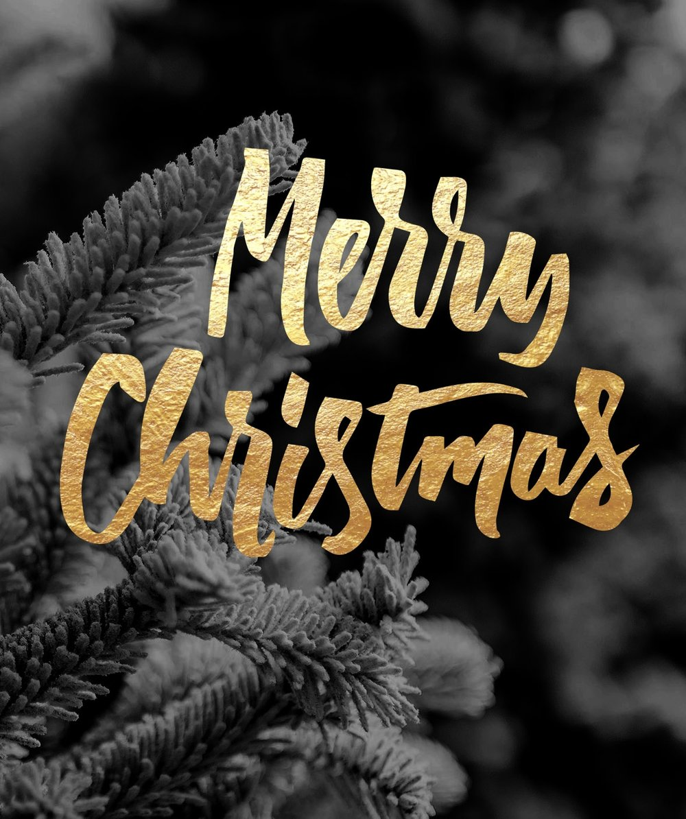 A collection of Christmas Overlays with lettering designs by Type and Graphics Lab | https://crmrkt.com/OMQk8 Photo credit: Ian Schneider | Source: unsplash.com