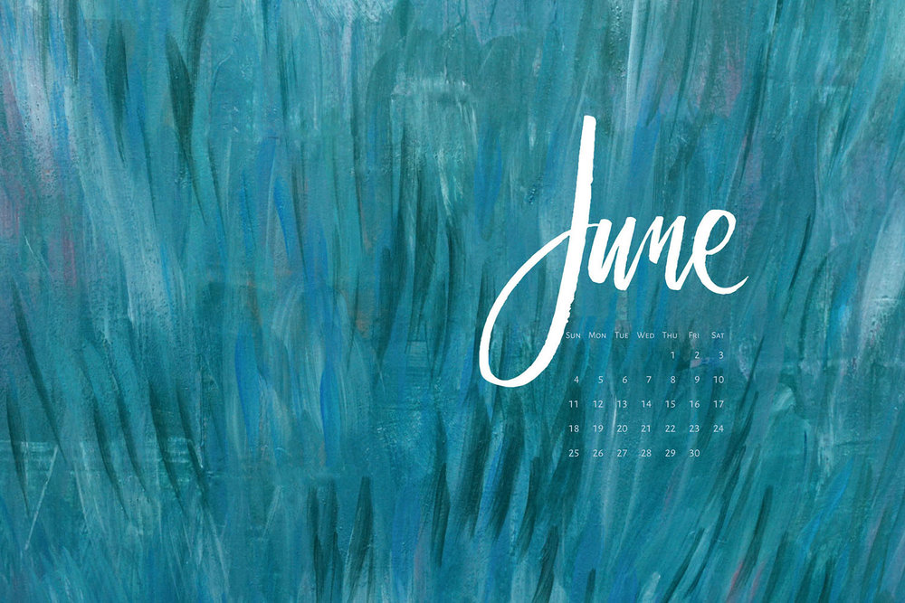 Download a free calendar for June 2017 | © typeandgraphicslab.com | For personal use only