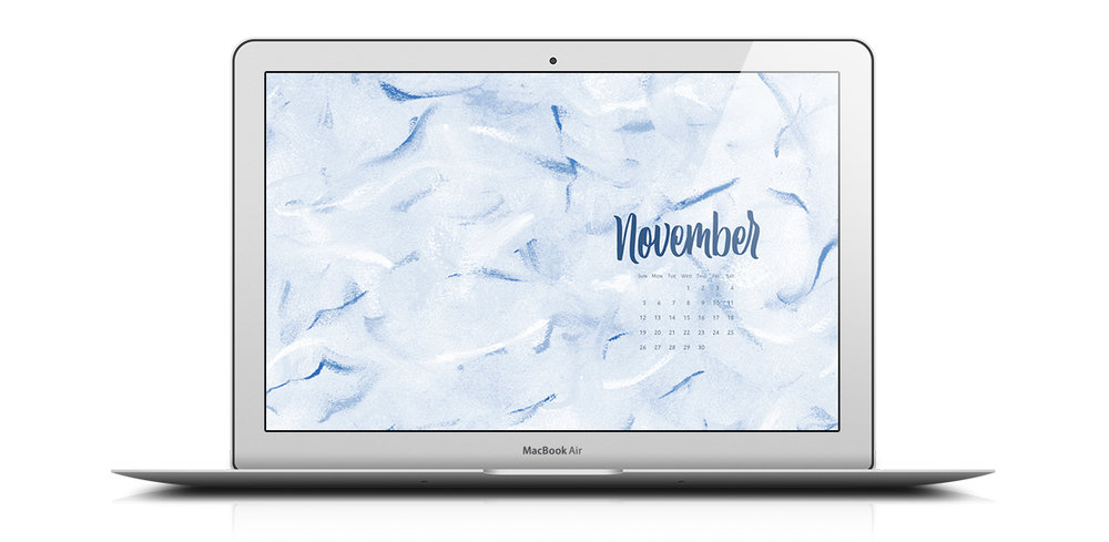 Download a free desktop calendar for November 2017 | © typeandgraphicslab.com | For personal use only