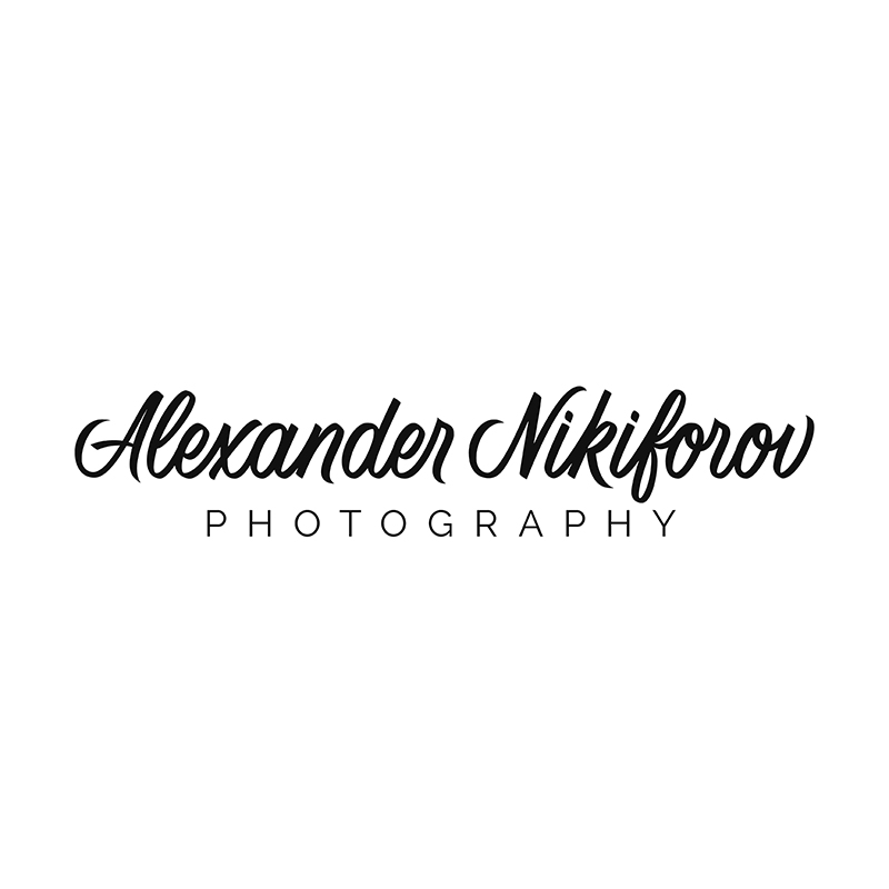 Logo design for a commercial fashion photographer Alexander Nikiforov | | By Svetlana Postikova, a graphic designer and lettering artist behind Type and Graphics Lab | typeandgraphicslab.com