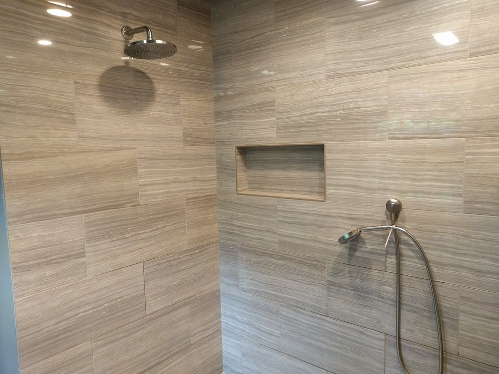 New Shower Finished May 26th 2016