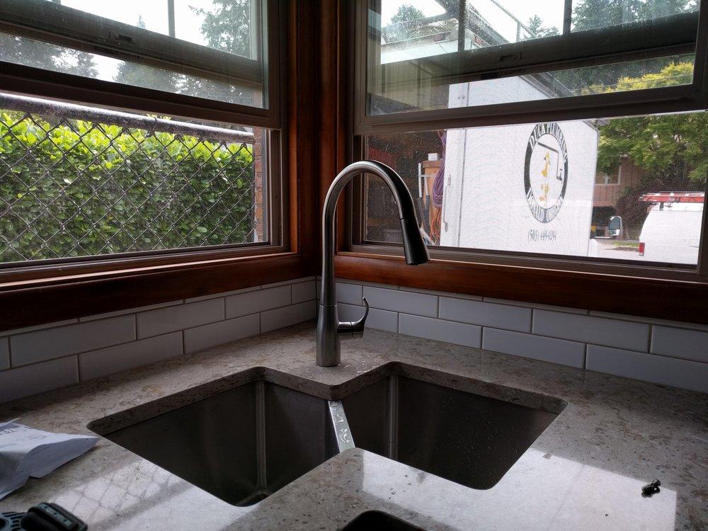 New Sink installed on Jun 1, 2016