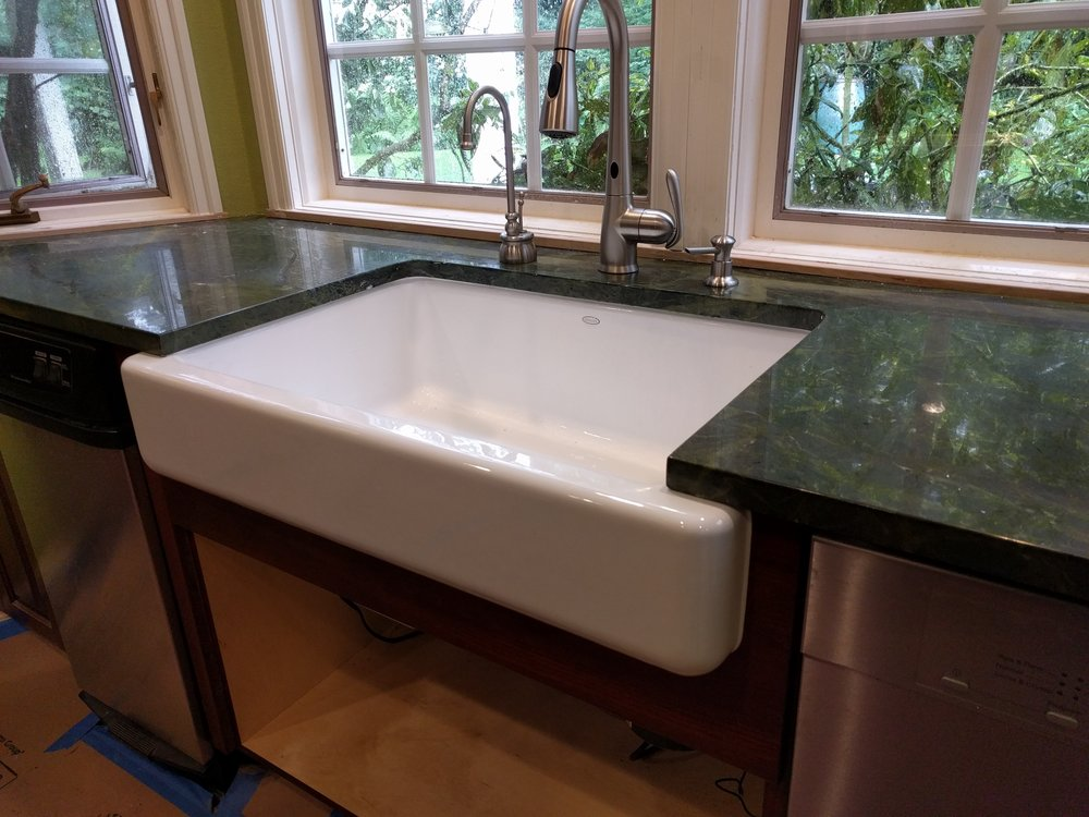 New Sink Installed by Duck Plumbing on Jun 14, 2016