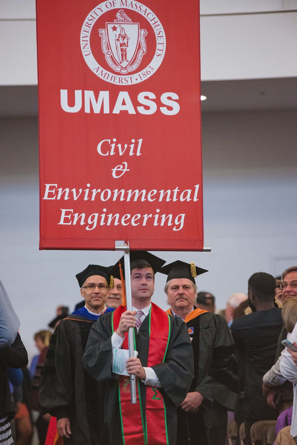 UMass Amherst College of Engineering Senior Recognition Ceremony