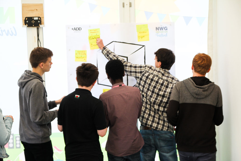 Children designing the Teenage Room of the Future - NWG Festival