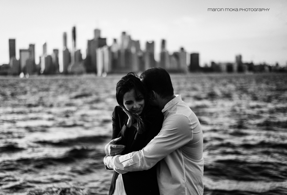 An out take from N & A engagement session on beautiful Center Island, Toronto.