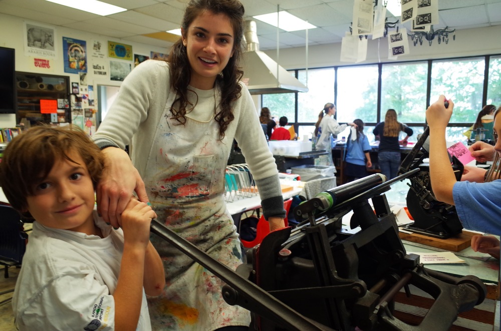 Service-learning project with Parke House Academy