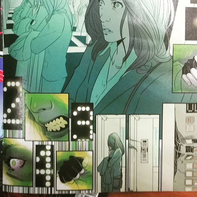 Hulking Out. #HulkIssue1 #MarikoTamaki #NicoLeon