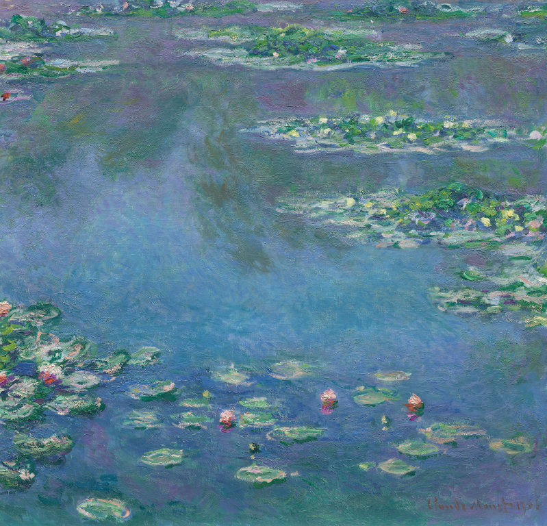 Claude Monet Water Lilies (1906)