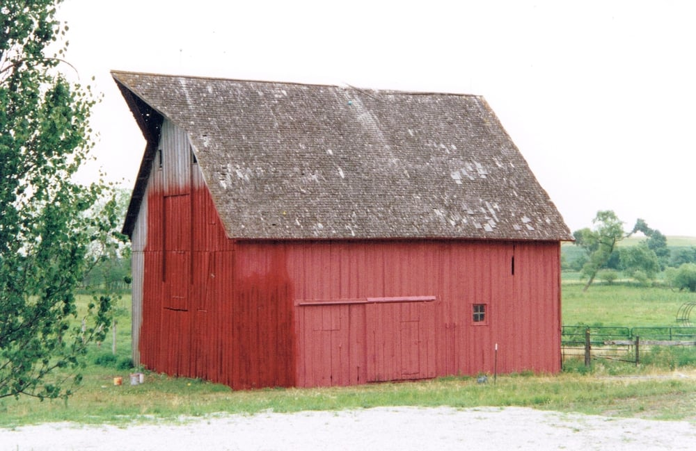 Repainting the barn.jpg