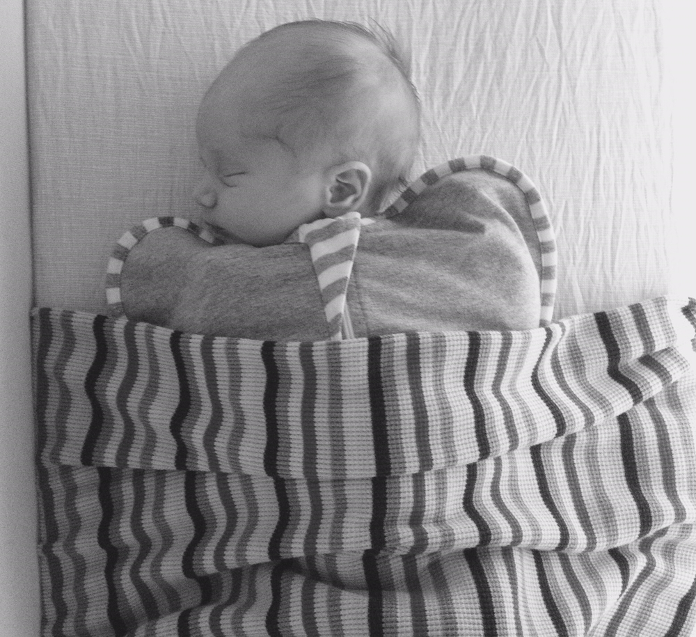 Harry in his Love to Dream swaddle