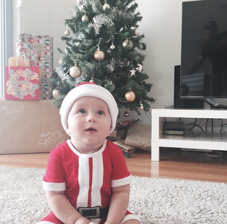 Our little Santa