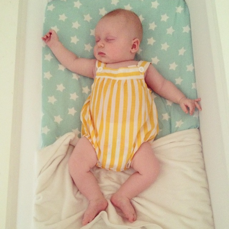 """""""Despite being told by countless people a bassinet was a waste of money, Rosie didn't seem to agree"""""""