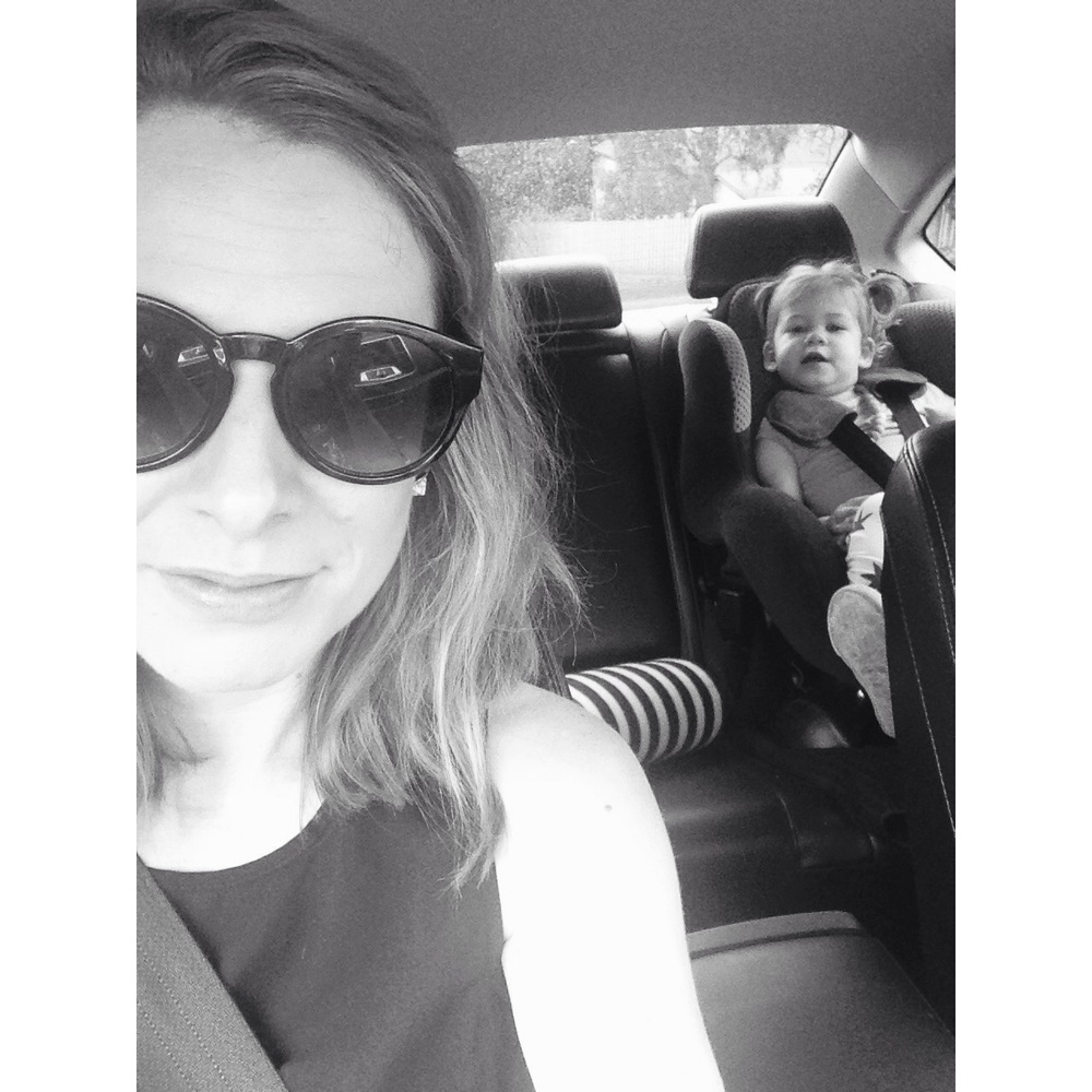 Eve and her daughter Isla cruising