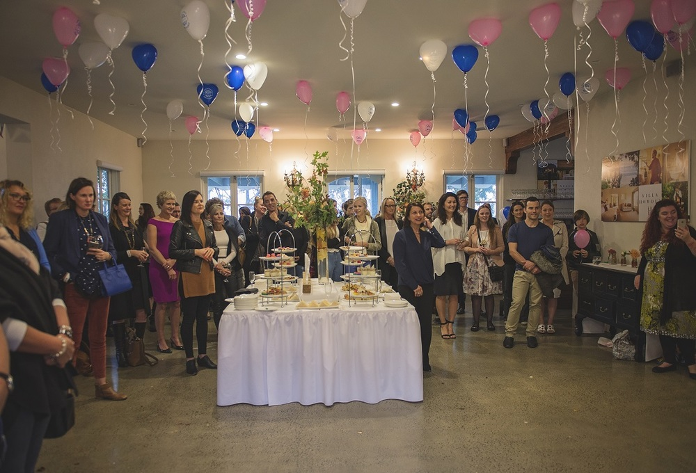 The World's Biggest Baby Shower Launch at Villa Howden, picture bythe Brave Foundation.