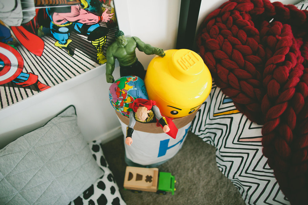 This storage sack by Pretty Tidy is THE BEST. So handy.