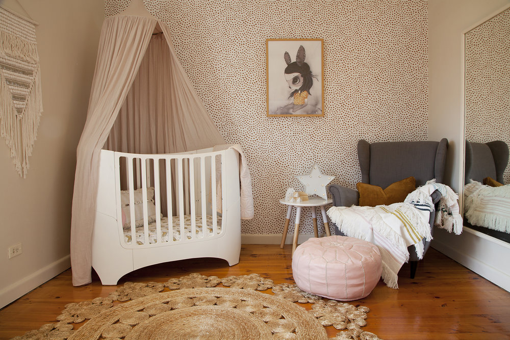 Isabella's nursery, a long time coming!