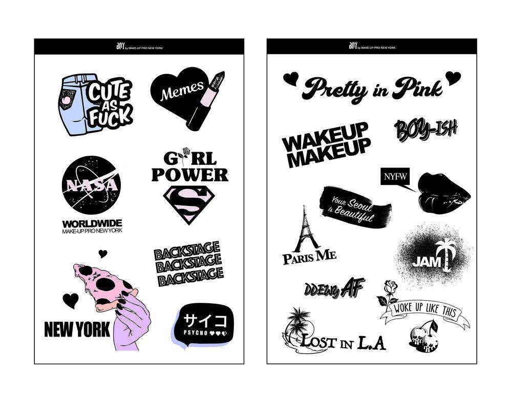 Sticker Design -