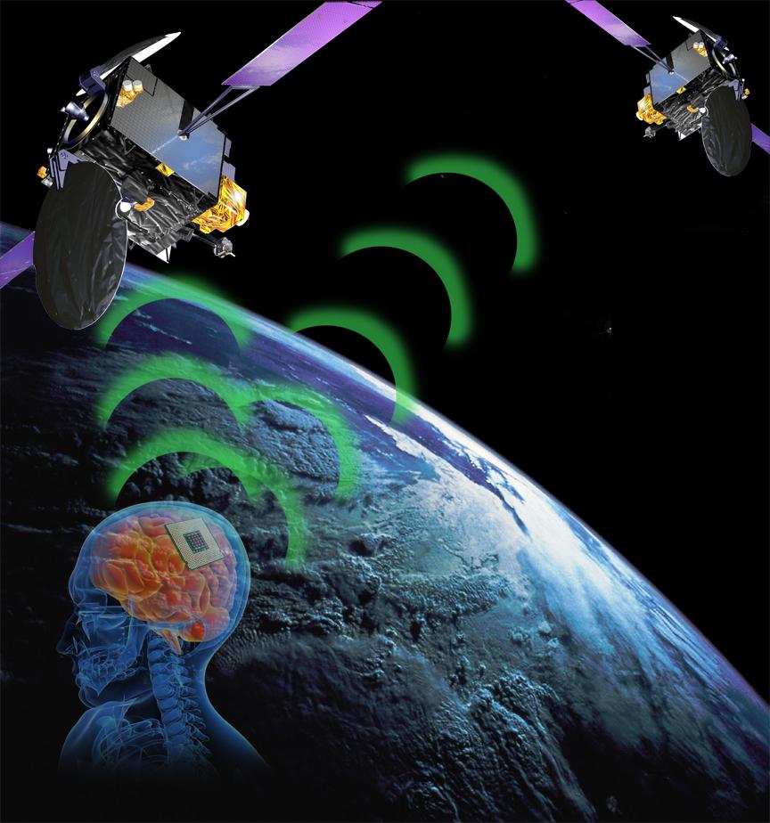 Brain Chip Satellite Communication -LBM 2012