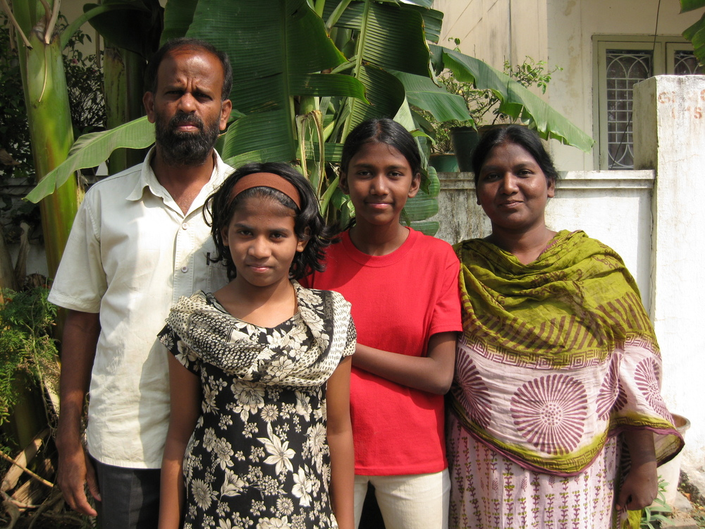 Timothy Jitluri, Mercy, Levia and Judy_S.India.JPG