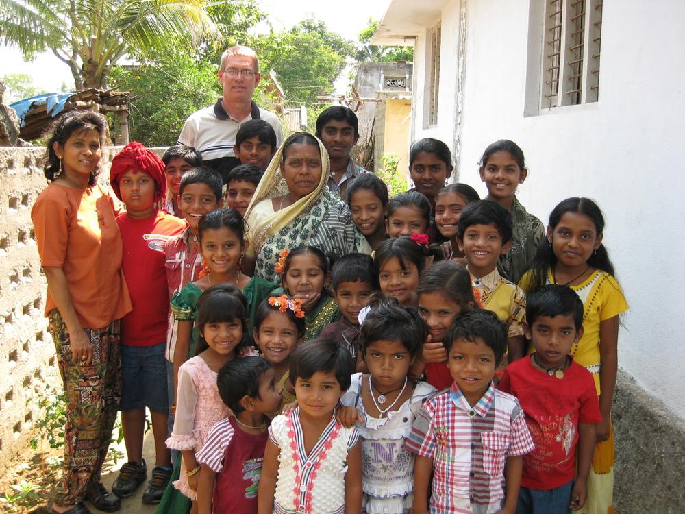 Children in the Grace Children's Home in India