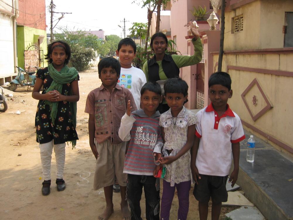 Children Clarks trip India.JPG