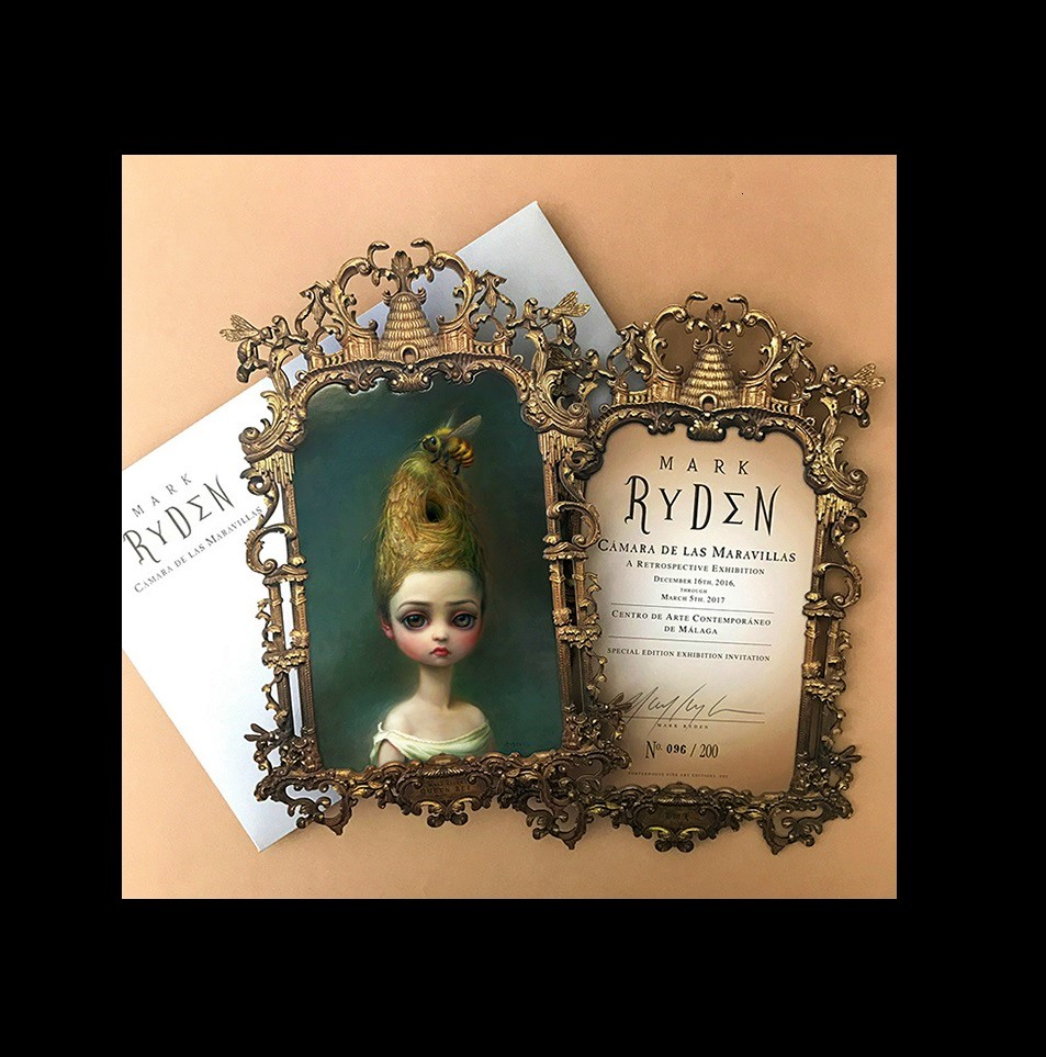"""MARK RYDEN"",  2016, signed/edition announcement."