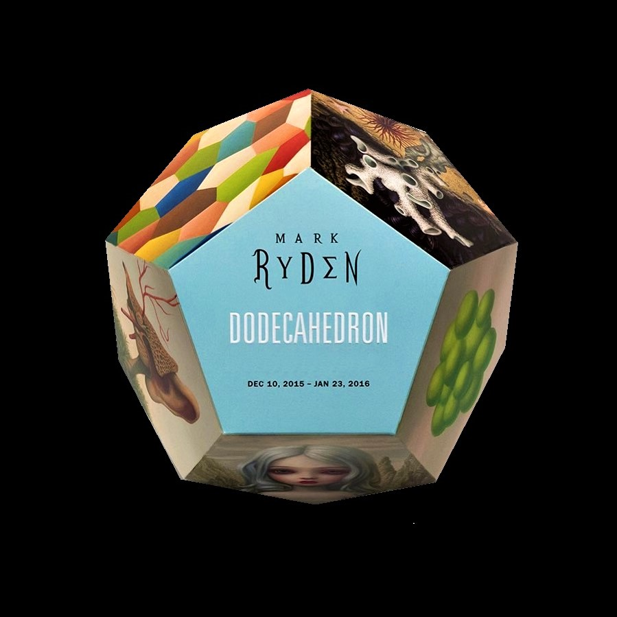 'DODECAHEDRON' , 2015, paul kasmin invitation.